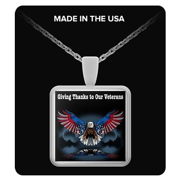 Giving Thanks to Our Veterans - Necklace