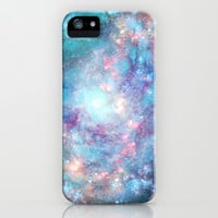 Abstract Galaxies 2 iPhone & iPod Case by Barruf designs