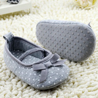 Lowest Price High Quality Girls Newborn Baby Prewalker Princess Shoes Infant Toddler Butterfly Flower First Walkers Shoes 781