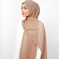 Dusty Rose Soft Crepe Hijab - £11.90 : Inayah, Modest Clothing & Fashion, Abayas, Jilbabs, Hijabs, Jalabiyas & Hijab Pins