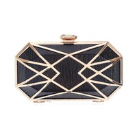 The Gatsby Clutch - Black from ROXX at ShopRoxx.com
