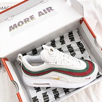 Gucci X Sean Wotherspoon X Air Max 1/97 Vf Sw Hybrid Sneaker #1811