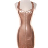 Kami the Rose Gold Dress