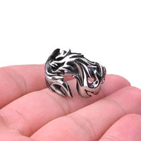 Dragon Band Fantasy Ring