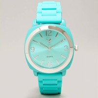 AEO Mint Rubber Watch   American Eagle Outfitters
