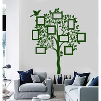 Wall Vinyl Decal Family Tree For Bedroom Living Room Mural Unique Gift z3908