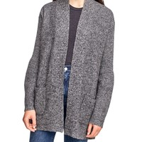 Cashmere Blouson Sleeve Coatigan