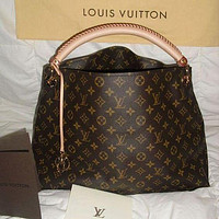 LV Louis Vuitton Fashion Lady Printed Shopping Bag Hand Bill Shoulder Bag