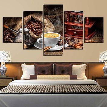 Creative Spices Pattern Canvas Painting