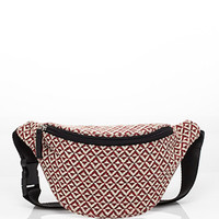 Geo-Patterned Fanny Pack
