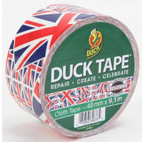 Union Jack Duck Tape by RaindropWallets on Etsy
