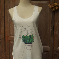 Cactus Tank Top Camis Women Fitness top for Beach Summer Clothes Gift Summer fashion tshirt Vintage tank top Mixed Shorts Pants Jeans