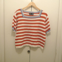 Lizsport Red White and Blue Blouse