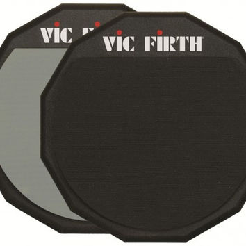 "Vic Firth Pad12D Double Sided 12"" Drum Practice Pad"