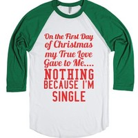 on the first day of christmas my true love gave to me-T-Shirt