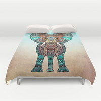 ElePHANT Duvet Cover by Monika Strigel
