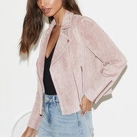 Kendall and Kylie Suede Moto Jacket at PacSun.com
