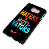 Nike Haters Motivation Nebula Galaxy for Samsung Galaxy S6 Case *76*