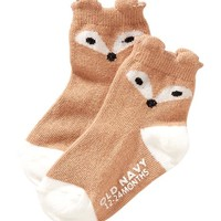 Old Navy Non Skid Critter Socks For Baby