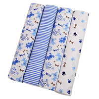 Free shipping 4 pcs/lot  gift Newborn 100% cotton baby blanket infant aden anais muslin swaddle cobertor toddler  atrq0013