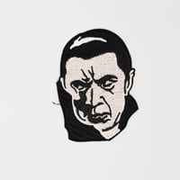 Dracula Iron On Patch