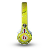 The Tennis Ball Overlay Skin for the Beats by Dre Mixr Headphones