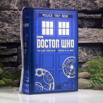 Hollow Book Safe - Doctor Who (LEATHER BOUND) The Silent Stars Go By - Touched By An Angel