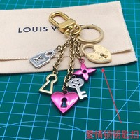 Louis Vuitton Lv M67438 Love Lock Heart And Keys Bag Charm And Key Holder - Best Deal Online