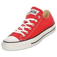 Converse Converse Chuck Taylor All Star Shoes (M9696) Low Top In Red, Size: 8.5 D(M) Us