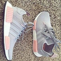 """""""Adidas"""" NMD Men's and Women's Tide Brands Fashion Casual Sports Shoes F"""