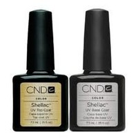 """CND Shellac Top and Base """"Set of 2"""" Good Deal"""