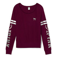 Bling Long Sleeve Raglan - PINK - Victoria's Secret
