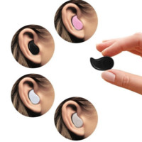 Mini Invisible Ultra Small Bluetooth 4.0 Stereo Earbud Headset With Microphone Support Hands-Free Calling For Smartphones And Perfect For Listening To Music At Work