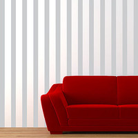 Stripes Made Easy Wall Sticker