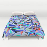 Geometric No.19 Duvet Cover by House of Jennifer