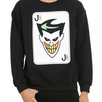 Batman: The Animated Series The Joker Crew Pullover
