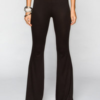 Lira Colonia Womens Bell Pants Black  In Sizes