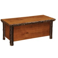Rustic Hickory Banket Chest