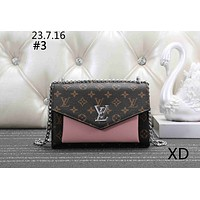 LV 2019 new tide brand female models flip bag chain bag Messenger bag #3