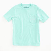 Shop Boys' T-Shirts: Map Whale Graphic Pocket T-Shirt for Boys' - Vineyard Vines