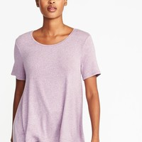 Soft-Spun Luxe Swing Tee for Women   Old Navy