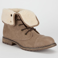 Dirty Laundry Raeven Womens Boots Taupe  In Sizes