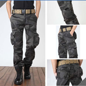 Camouflage Hunting Cargo Pants - 8 Colors