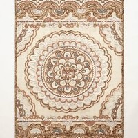 Tufted Suzani Rug by Anthropologie