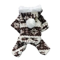 Petparty Dog Hoodie for Dog Coat Dog Jumpsuit Cozy Fashion Dog Clothes Pet Clothes ,L