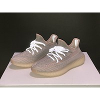 """Adidas Yeezy Boost 350 V2 boost """"SYNTH"""" Sneakers Running Sport Shoes Static Refective Shoes"""