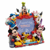 "disney parks mickey & friends fab 6 painting picture frame 4""x6"" new with box"
