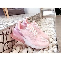 NIKE AIR MAX 270 New pink women's wild sports shoes