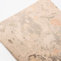 ARMINHO / Gold Marbled Notebook