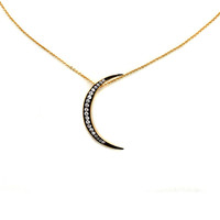 Mixed Crescent Necklace